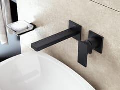 Miscelatore per lavabo a 2 fori a muroINCANTO | Rubinetto per lavabo a muro - GRAFF