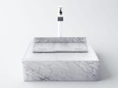 INCLINIO   Lavabo in marmo di Carrara