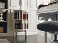 Libreria a giorno girevole laccata in legnoINCONTRI | Libreria girevole - MARTINI MOBILI