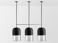 Lampada a sospensione a LED fatta a mano con dimmerINDI TRIPLE | Lampada a sospensione - ARTICOLO LIGHTING