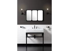 Specchio rettangolare da parete per bagnoINDUSTRIALIS | Specchio - BLEU PROVENCE