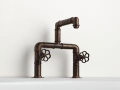 Rubinetto per lavabo a ponte da pianoINDUSTRIALIS | Rubinetto per lavabo - BLEU PROVENCE