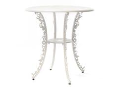 Tavolo rotondo in alluminioINDUSTRY | Tavolo rotondo - SELETTI