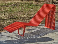 Seduta da esterni in acciaioINFINITY | Seduta da esterni - PUNTO DESIGN