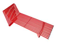 Panchina in acciaio senza schienaleINFINITY   Panchina in acciaio - PUNTO DESIGN