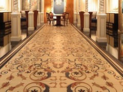 MOSAICO IN LEGNO INLAYED FLOORING - ARNABOLDI INTERIORS