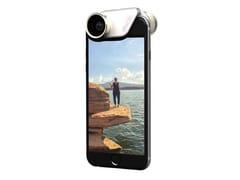 Obiettivo per smartphoneINM100 | FISHEYE, GRANDANGOLO E 2 MACRO - OLLOCLIP