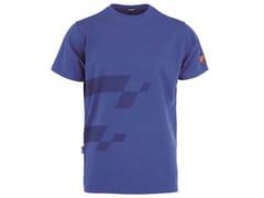 T-shirt 90% CO - 10% EA 190g/mqINN-MISANO BLUE ROYAL - INNEX