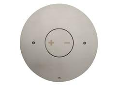 Placca di comando per wc in acciaio satinato INO-X 06 | Placca di comando per wc in acciaio satinato -