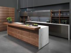 Cucina componibile in acciaio e legnoINO(X) - RATIONAL