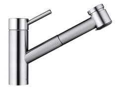 Miscelatore da cucina in acciaio inox con doccetta estraibileINOX 10.271.033.700FL - FRANKE WATER SYSTEMS