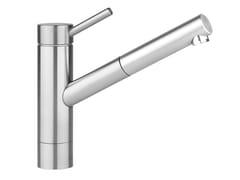 Miscelatore da cucina in acciaio inox con doccetta estraibileINOX 10.271.303.700FL - FRANKE WATER SYSTEMS
