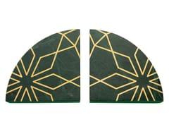 Fermalibri in pietra naturale in stile modernoINTARSIO GEOMETRY   Fermalibri - ORVI DESIGN STUDIO