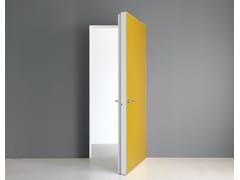 Porta a battente a filo muro in vetroINTEGRA | Porta in vetro - ALBED