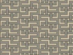 Carta da parati geometrica in carta non tessutaINTERCEPTION - ALDECO, INTERIOR FABRICS