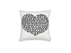 Cuscino quadrato in cotoneINTERNATIONAL LOVE HEART - VITRA