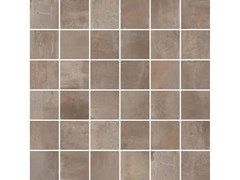 Mosaico per decoro INTERNO 9 MOSAICO QUADRETTI Mud - ABK GROUP INDUSTRIE CERAMICHE