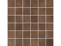 Mosaico per decoro INTERNO 9 MOSAICO QUADRETTI Rust - ABK GROUP INDUSTRIE CERAMICHE