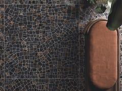 CERAMICHE KEOPE, INTERNO4 PALLADIANA DARK Pavimento/rivestimento in gres porcellanato effetto marmo