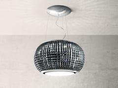 Cappa ad isola in acciaio e vetro con illuminazione integrataINTERSTELLAR - ELICA