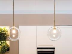 Lampada a sospensione a luce diretta in ottoneINTI XXL1463.1L - CANGINI & TUCCI