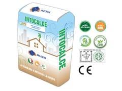 Bio-malta eco-compatibile a base di calce idraulica naturaleINTOCALCE CAM - MALVIN