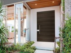 Porta d'ingresso acustica blindata in legno impiallacciato per esterno INTRO - 18.8011 I16 - Design - Intro