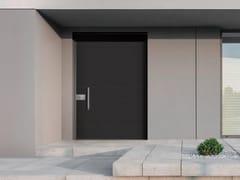 Porta d'ingresso acustica blindata in Laminam® per esterno INTRO - 18.8012 I16 - Design - Intro