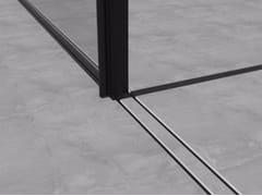 Binari per finestre scorrevoliINVISIBLE RAIL - OTIIMA