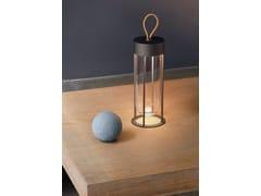 Lampada da tavolo per esterno a LED in alluminio e vetroINVITRO UNPLUGGED - FLOS