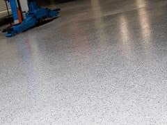 Sistema epossidico decorativo per pavimenti continuiIPM COLOR FLAKE - IPM ITALIA