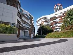 Pavimento per outdoor drenante in graniglia naturaleIPM GEODRENA® - IPM ITALIA