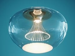 Lampada a sospensione a LED a luce diretta in vetro soffiatoIPNO VETRO - ARTEMIDE