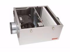 Unità di ventilazione a semplice flussoIR-USF 25 EC - IRSAP