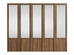 Pannello decorativo in legno impiallacciatoIREKIA - DOORWAY