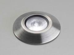 Segnapasso a LED a pavimento in acciaio inoxIRIDE - PURALUCE