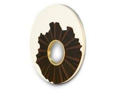Specchio rotondo da parete con corniceIRIS - BRABBU DESIGN FORCES