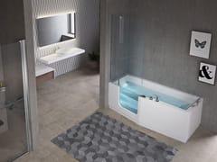 NOVELLINI, IRIS COMBY Vasca da bagno idromassaggio con porta