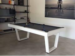 Tavolo da biliardo rettangolare in legnoIRON - BILLARDS TOULET