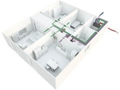 Centrale di ventilazione e recupero caloreIRSAIR 350 VER - IRSAP
