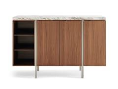 Madia in legno con piano in marmoIRVING | Madia in marmo - MOLTENI & C.