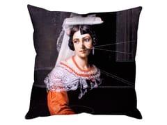 Cuscino quadrato in tela ISABELLA -