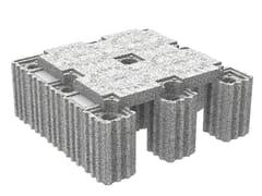 Vespaio aerato con isolamento termico integratoISOLCUPOLEX - PONTAROLO ENGINEERING