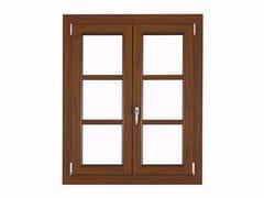 FOSSATI SERRAMENTI, ISOLTEK Finestra ad anta-ribalta in PVC con doppio vetro