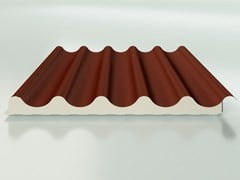 ISOPAN, ISOVELA & ISOVELA CLASSIC Pannello metallico coibentato per copertura