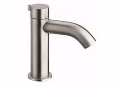 Miscelatore per lavabo da piano monocomando in acciaio inox IX | Miscelatore per lavabo da piano - iX