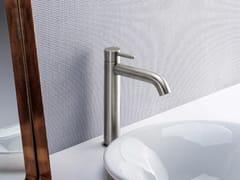 Miscelatore per lavabo da piano monocomando in acciaio inox IX | Miscelatore per lavabo - iX
