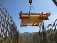 Sistema per muratura portante in cls gettato in operaPianale rampante interno - CONDOR