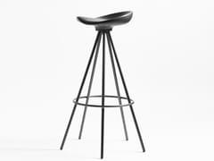 Sgabello alto su trespolo in alluminio e legnoJAMAICA | Sgabello alto - BD BARCELONA DESIGN