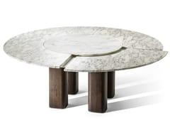 Tavolo rotondo in marmo JANE | Tavolo rotondo - LA COLLEZIONE - Tavoli e sedie